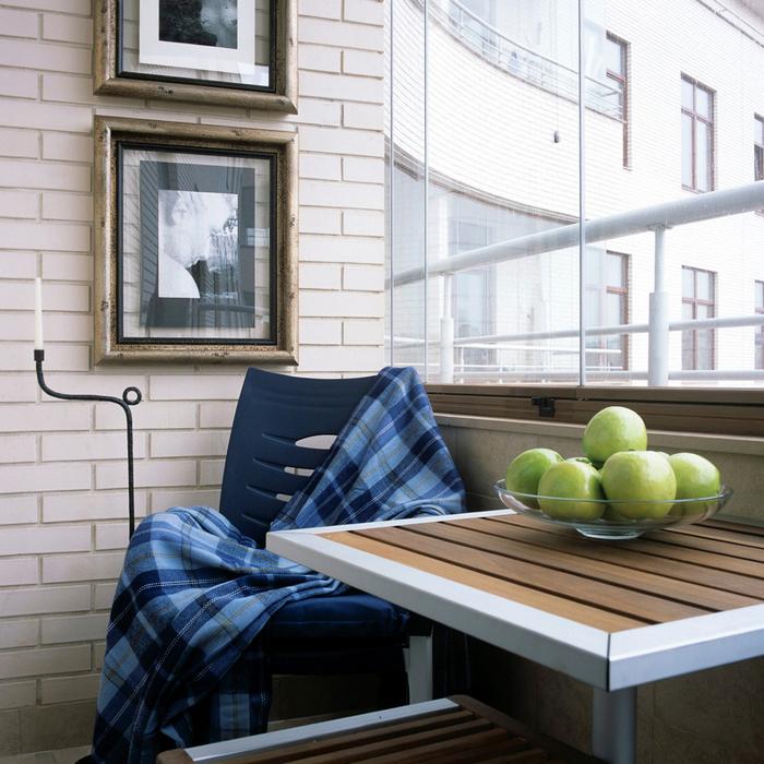 Квартира. веранда лоджия из проекта , фото №19257