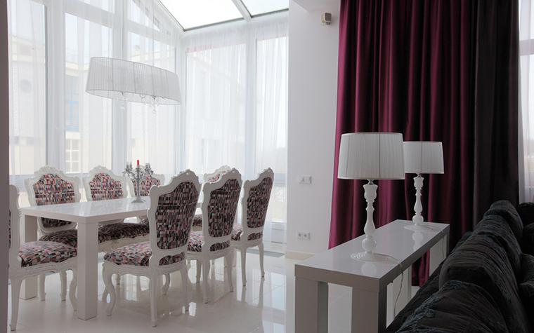 Квартира. столовая из проекта , фото №19310