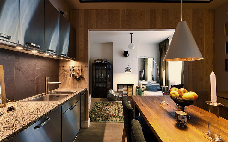 Фото № 19560 кухня  Квартира