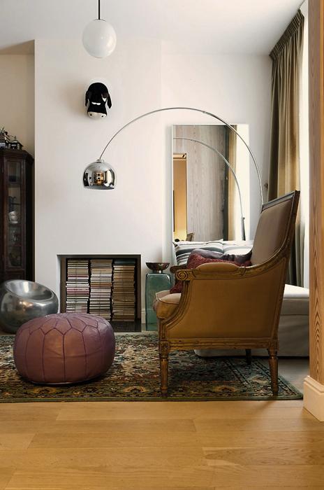 Фото № 19555 гостиная  Квартира
