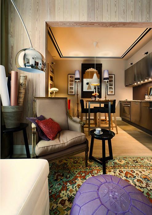Фото № 19556 гостиная  Квартира