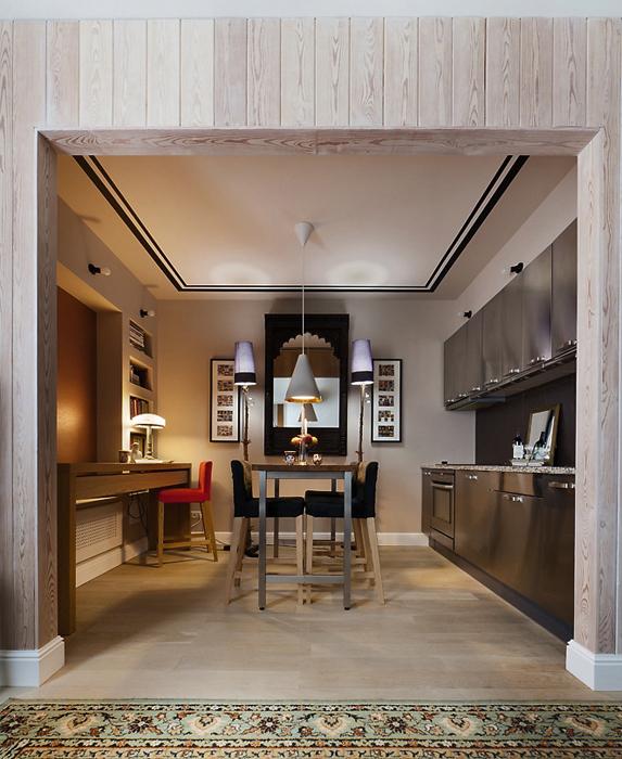 Фото № 19558 кухня  Квартира