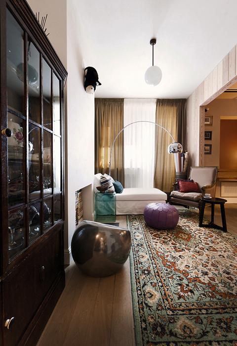 Фото № 19565 гостиная  Квартира