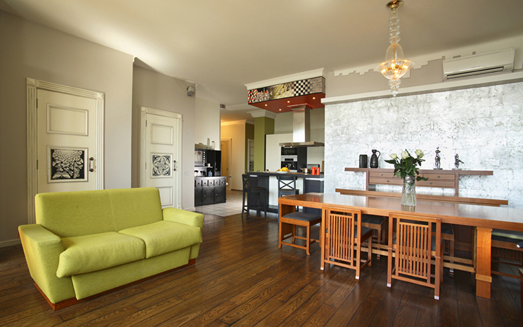 Квартира. гостиная из проекта , фото №19655