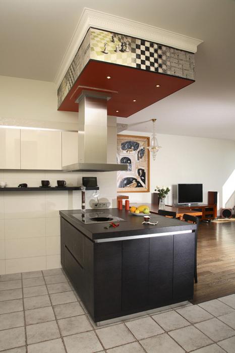 Квартира. кухня из проекта , фото №19666