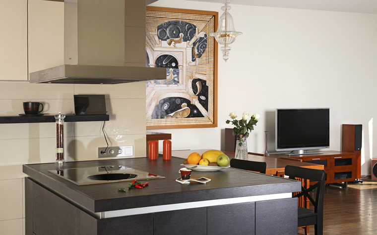Квартира. кухня из проекта , фото №19667
