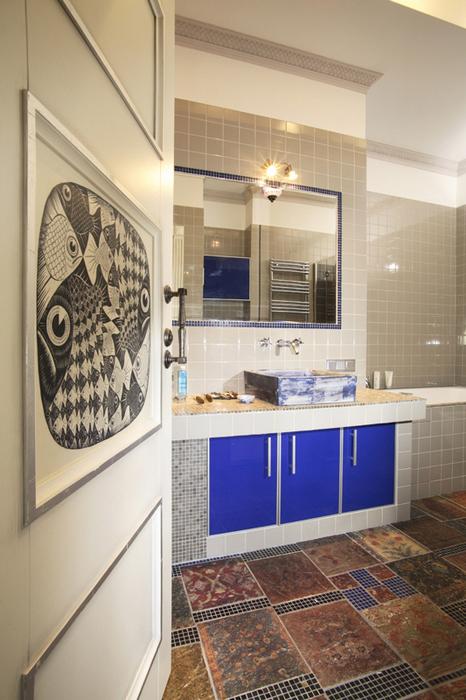 Квартира. ванная из проекта , фото №19672