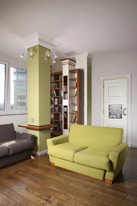 Квартира. гостиная из проекта , фото №19659