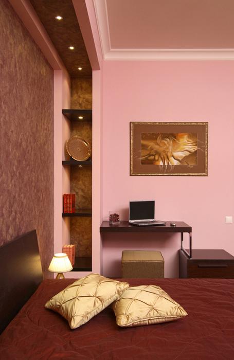 интерьер спальни - фото № 19687