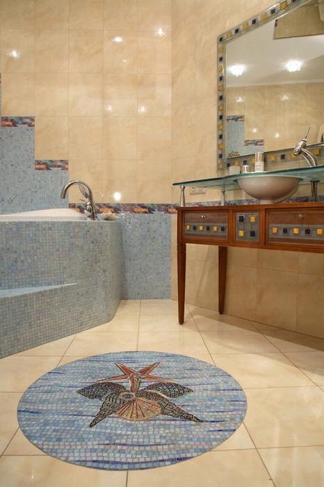 Квартира. ванная из проекта , фото №19788