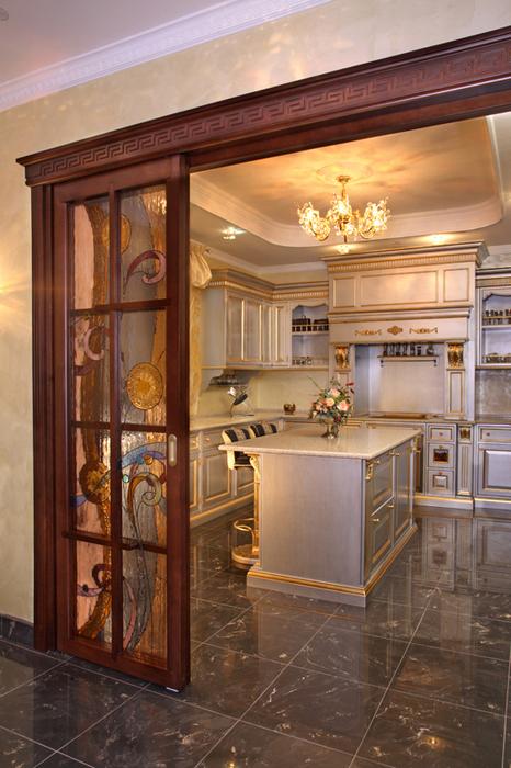 Квартира. кухня из проекта , фото №19781