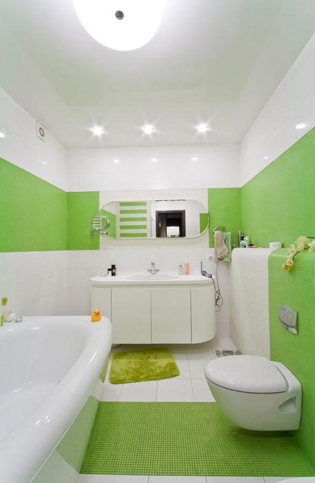 Квартира. ванная из проекта , фото №19833