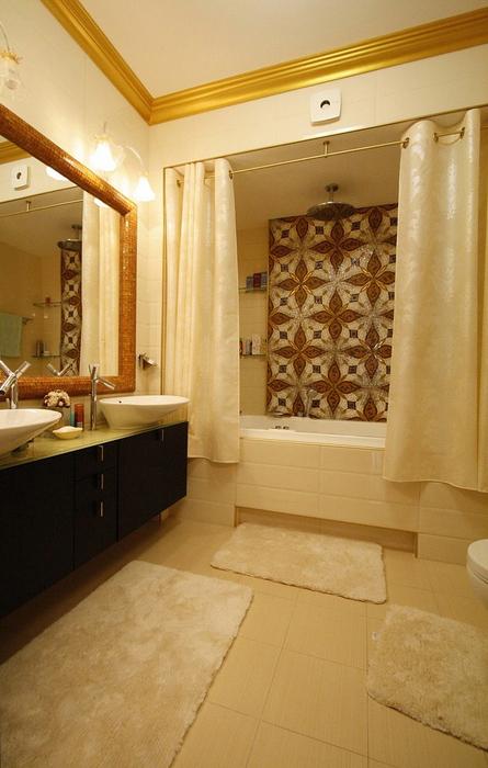 Квартира. ванная из проекта , фото №19845