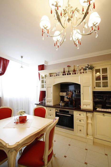 Фото № 19840 кухня  Квартира