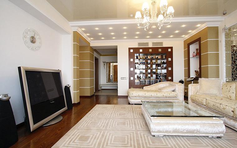 Квартира. гостиная из проекта , фото №19835