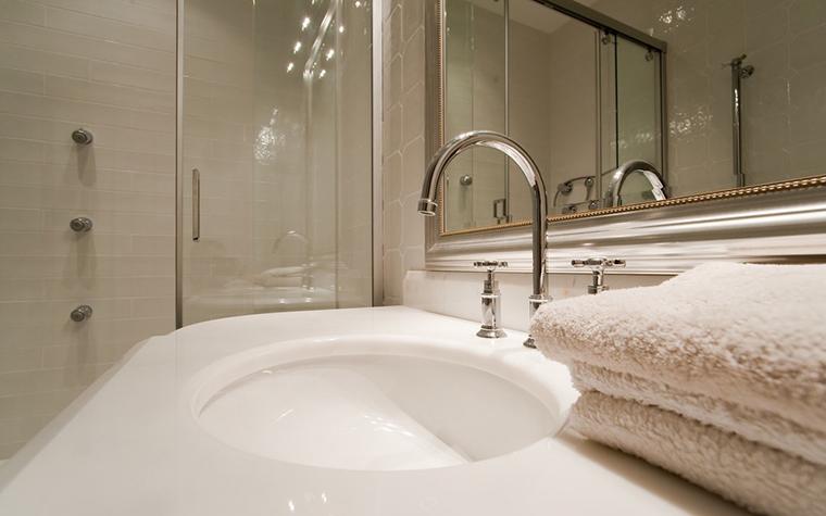 Квартира. ванная из проекта , фото №19973