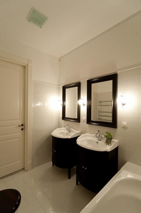 Квартира. ванная из проекта , фото №19975