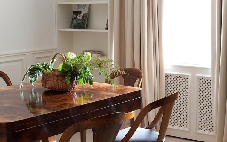 Квартира. столовая из проекта , фото №19957
