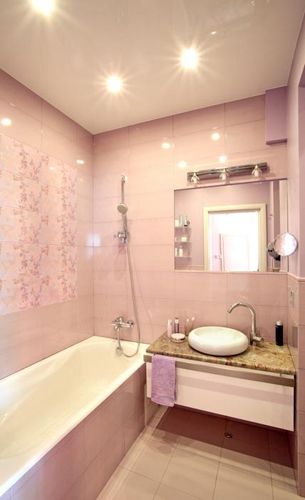 Квартира. ванная из проекта , фото №20063
