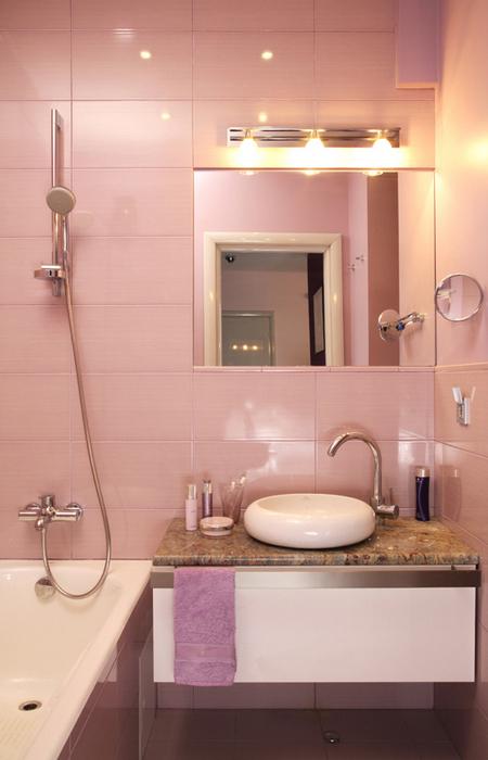 Квартира. ванная из проекта , фото №20064