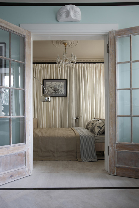 Квартира. спальня из проекта , фото №20196