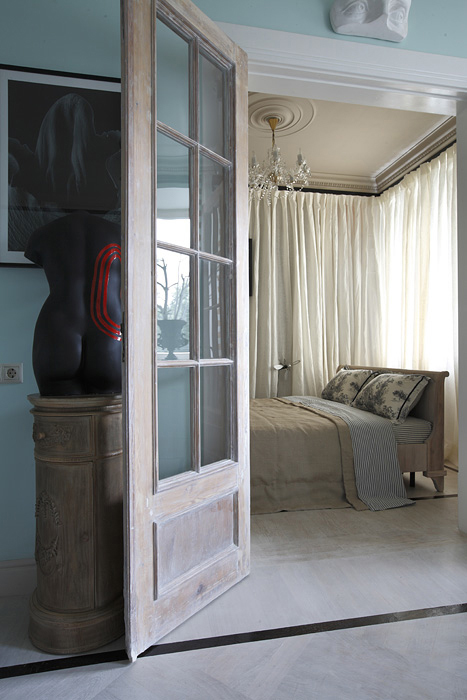 Квартира. спальня из проекта , фото №20197
