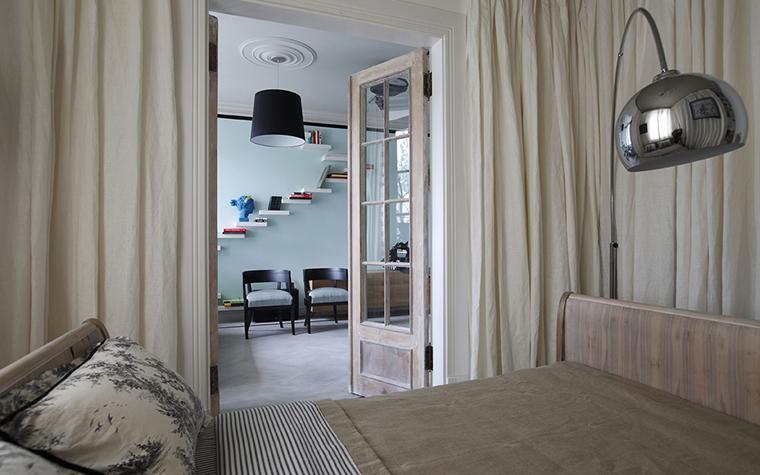 Квартира. спальня из проекта , фото №20199