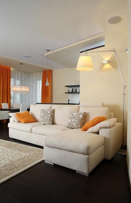 Фото № 20280 гостиная  Квартира