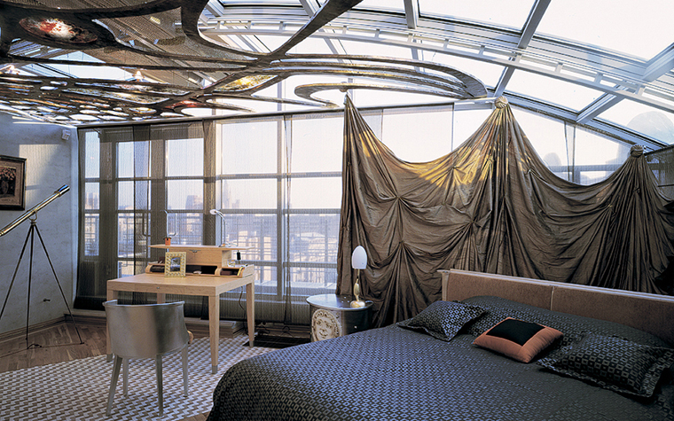 Квартира. спальня из проекта , фото №20333