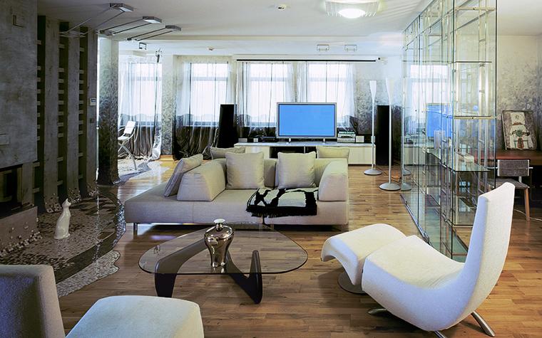 Квартира. гостиная из проекта , фото №20325