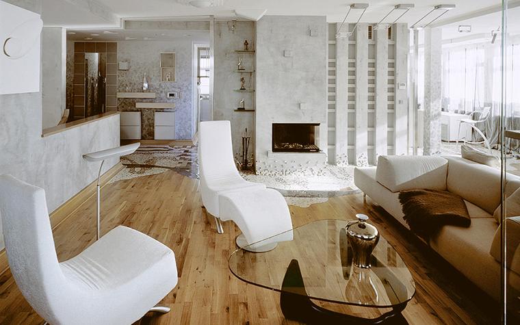 Квартира. гостиная из проекта , фото №20326