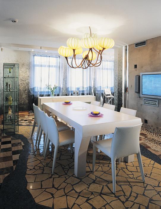 Квартира. столовая из проекта , фото №20368