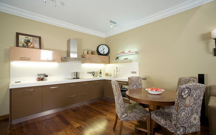 Квартира. кухня из проекта , фото №20349
