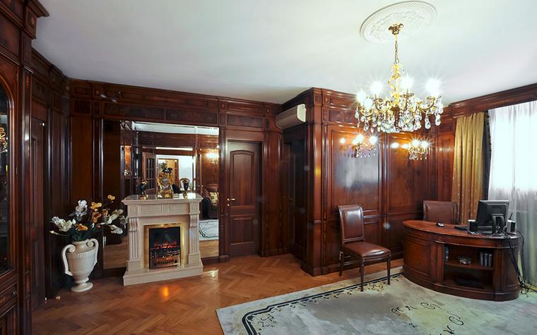 интерьер кабинета - фото № 20607