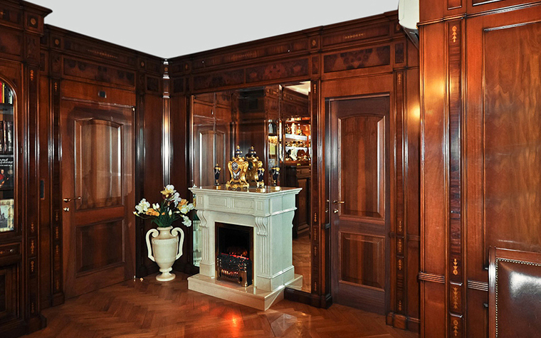 Фото № 20609 кабинет библиотека  Квартира
