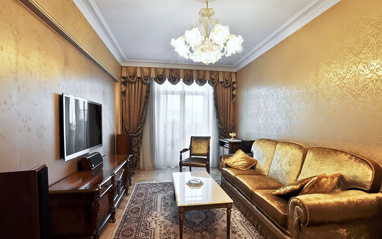 Квартира. гостиная из проекта , фото №20523