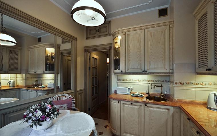 Дизайн кухни-столовой-гостиной