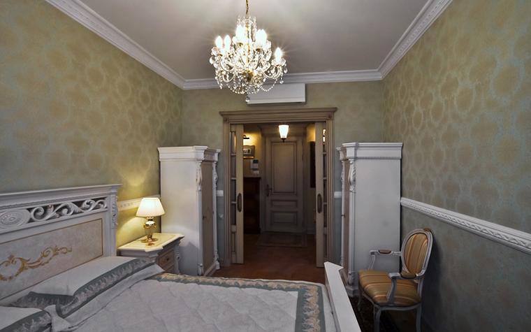 Квартира. спальня из проекта , фото №20530