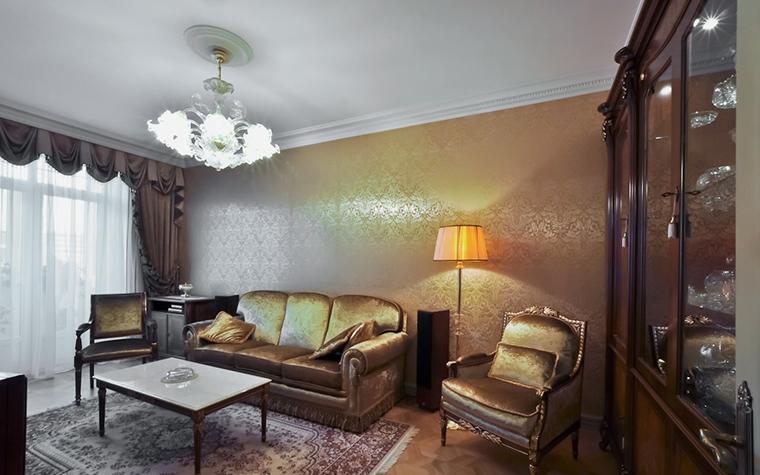 Квартира. гостиная из проекта , фото №20524