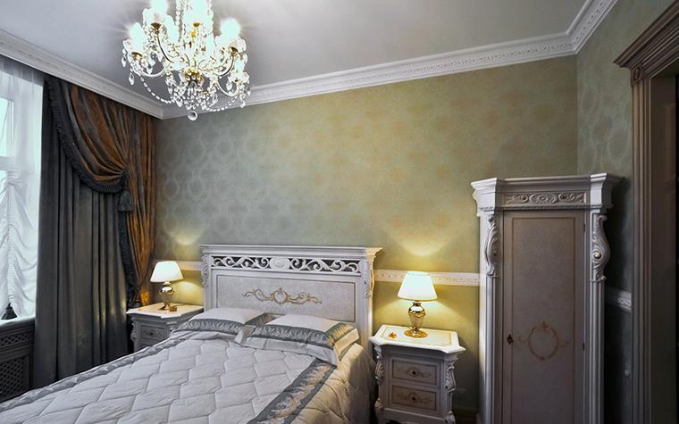 Квартира. спальня из проекта , фото №20531