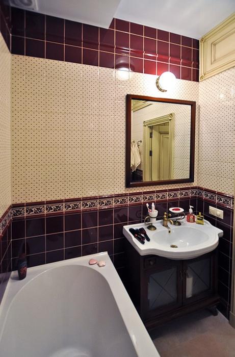Квартира. ванная из проекта , фото №20537
