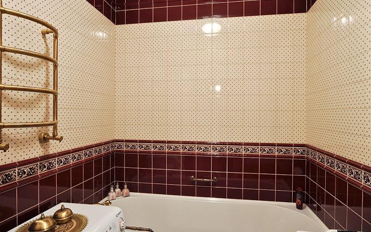 Квартира. ванная из проекта , фото №20539