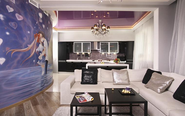 интерьер гостиной - фото № 20515
