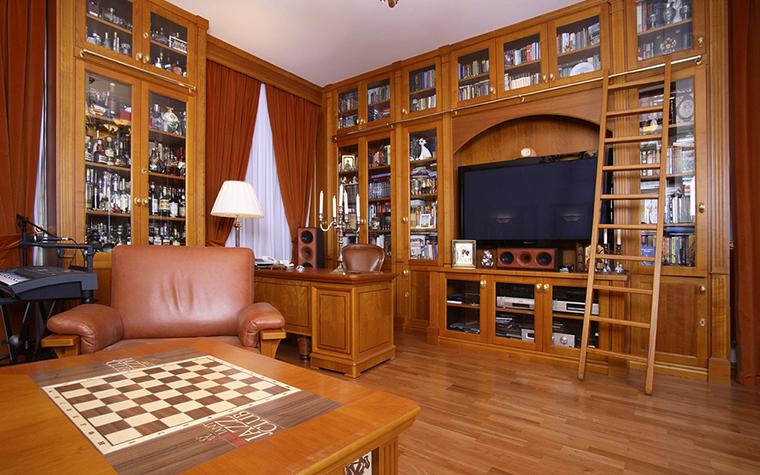 Фото № 20572 кабинет библиотека  Квартира