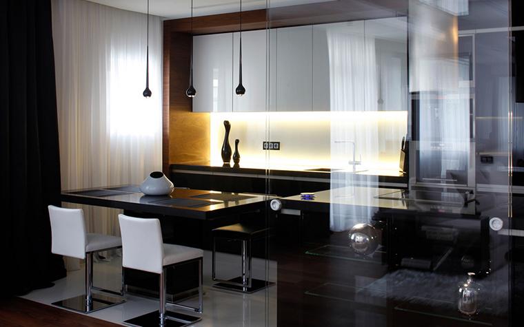 Квартира. кухня из проекта , фото №20580
