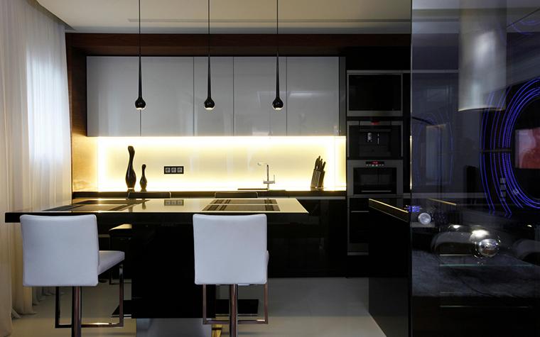 Квартира. кухня из проекта , фото №20579