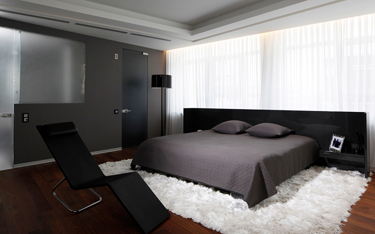 Квартира. спальня из проекта , фото №20591
