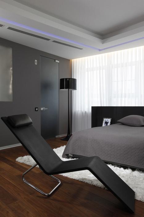 Квартира. спальня из проекта , фото №20592