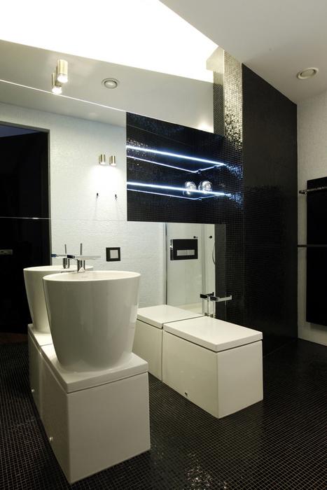 Квартира. ванная из проекта , фото №20596