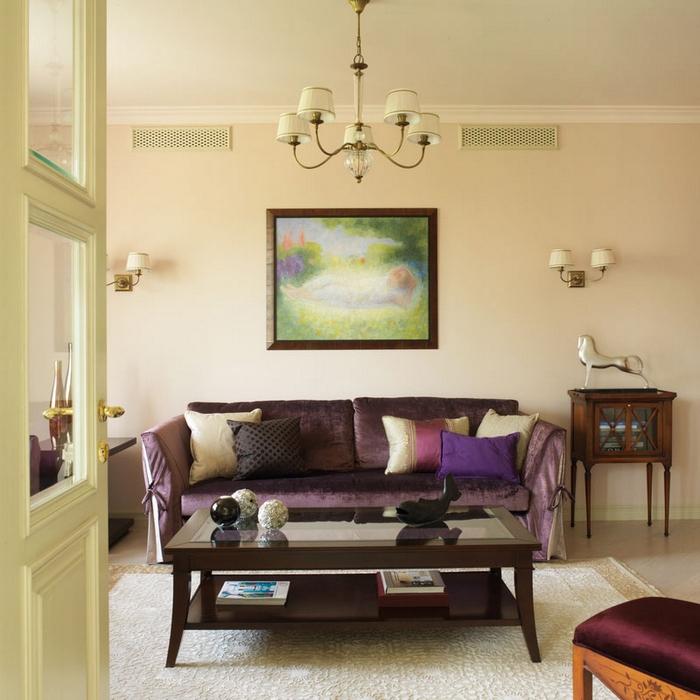 интерьер гостиной - фото № 20641